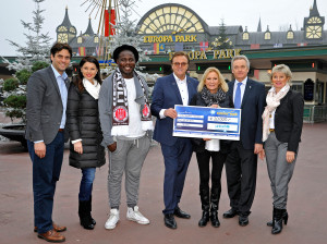 Europa-Park Unicef im Winter 2014