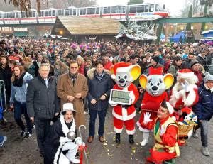 Europa-Park Winter 2014 Eröffnung durch Familie Mack