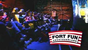 Fort Fun Abenteuerland – Neuheit 2015: FoXDome – Interactive Motion Ride