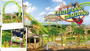 Freizeitland Geiselwind Achterbahn 2015