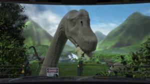 Freizeitland Geiselwind Dino-Safari 4D-Film 2015