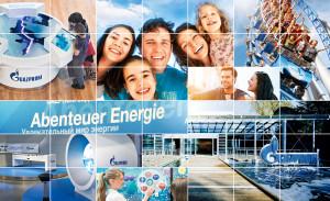 Gazprom im Europa-Park - Abenteuer Energie