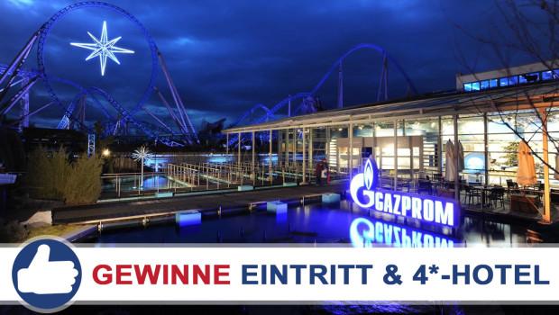 GAZPROM Europa-Park Gewinnspiel
