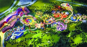 Hello Kitty Freizeitpark China Concept
