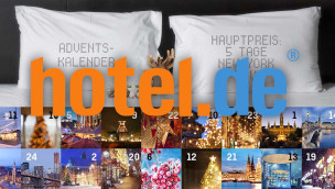hotel.de Adventskalender 2014 – täglich ein Hotelerlebnis zu gewinnen