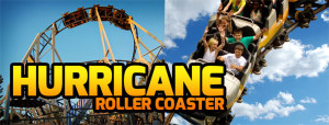 Hurricane Roller Coaster in Race City PCB