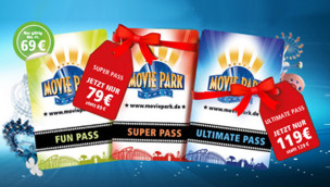 Movie Park Germany Winterangebot – 10 Euro Rabatt auf Eintrittskarten und Saisonpass 2015