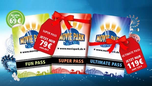 Movie Park Germany Winterangebot 2015