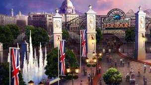 Paramount London entsteht: Neue Artworks zeigen, wie der 4 Mrd. Euro-Freizeitpark in England aussehen soll