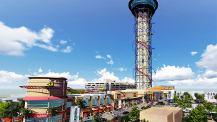 Neuer höchster Free Fall-Tower der Welt angekündigt – Skyfall im Skyplex Orlando