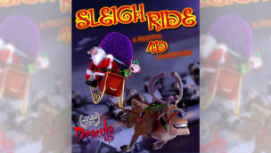 """Sleigh Ride"" als 4D-Film bei Winter Slagharen 2014"