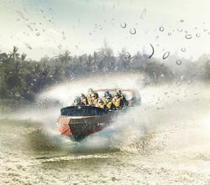 2015 Neuheit im Serengeti Park - Jetboot