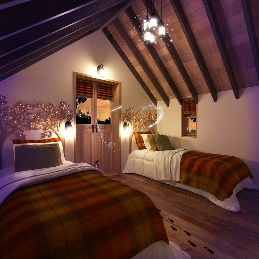 alton towers gew hrt einblick in luxus baumh user f r 800 pro nacht. Black Bedroom Furniture Sets. Home Design Ideas