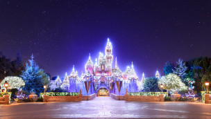 Disneyland Resort Kalifornien im Winter 2014
