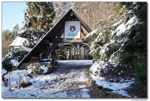 Eifelpark Gondorf im Winter