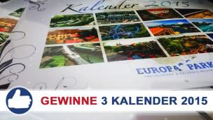 Parkerlebnis Gewinnspiel: 3 Europa-Park Kalender 2015 zu gewinnen