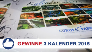 Europa-Park Kalender 2015 Gewinnspiel
