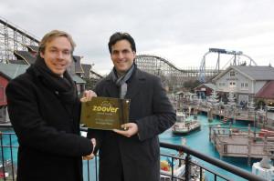 Europa-Park Zoover Award 2014