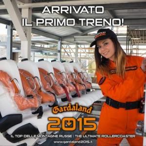 Gardaland Dive Coaster 2015 - Züge