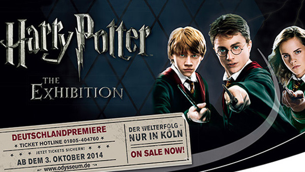 Harry Potter Ausstellung 2019