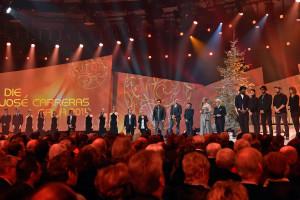 José Carreras Gala 2014 - Prominente auf der Bühne