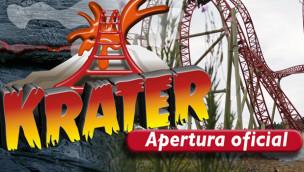 "Parque Nacional del Café eröffnet Achterbahn ""Krater"" – erster Euro-Fighter Lateinamerikas"