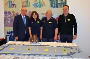 Legoland Deutschland Ulmer Münster Baubeginn