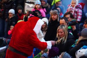 Nikolaus bei der Tierweihnacht in Tripsdrill