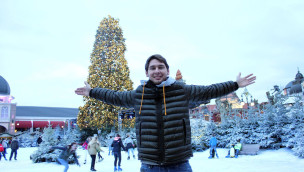 Patrick Helmes beim Phantasialand Wintertraum 2014