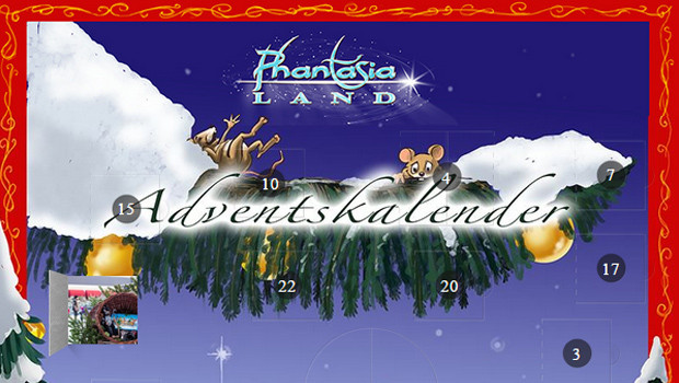 Phantasialand Adventskalender 2014 Titel
