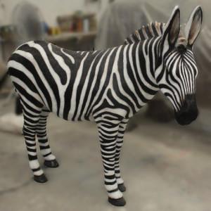 Afrika-Fotosafari Zebra im Rasti-Land