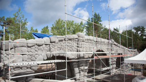 Bamses Värld - Victoria Bridge Baustellenbild