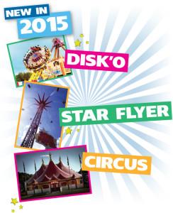 Brean Theme Park Neuheiten 2015