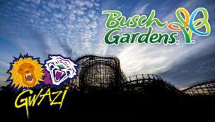 Gwazi in Busch Gardens schließt: letzte Fahrt der Holzachterbahn am 1. Februar 2015