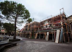 Europa-Park Geisterschloss Baustelle 2015 - 1