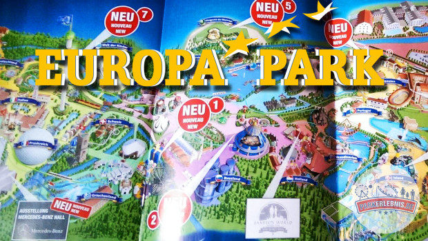 Europa-Park Parkplan 2015