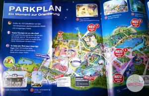 Europa-Park Parkplan 2015 - links