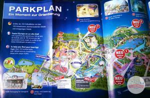 Europa-Park Parkplan 2015 - links