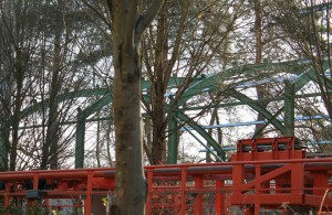 Expedtition GeForce Dach - Baustelle im Holiday Park - 2