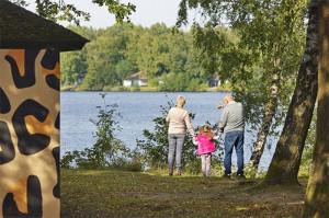 Ferienpark Beekse Bergen - Lage am See