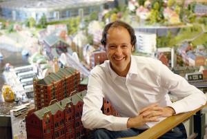Frederik Braun, Gründer des Miniatur Wunderland