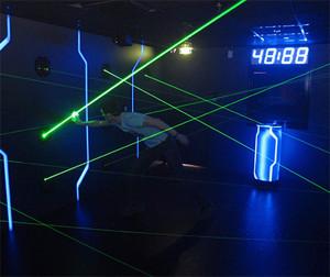 Futuroscope - The Arena Laserparcours
