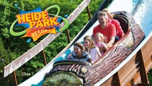 Heide Park Wildwasserbahn 2015 geöffnet