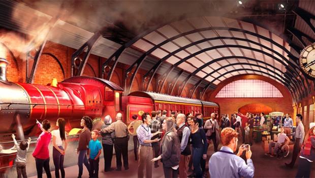 Hogwarts Express in London