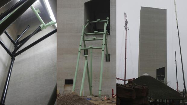 KÄRNAN Baustellenbilder aus dem Hansa-Park zur Ausfahrt