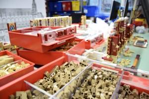 Ulmer Münster aus LEGO - Bauarbeiten 1