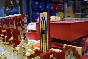 Ulmer Münster aus LEGO - Bauarbeiten 2