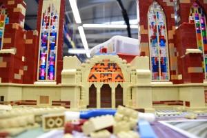 Ulmer Münster aus LEGO - Bauarbeiten 3