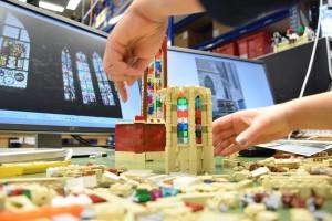Ulmer Münster aus LEGO - Bauarbeiten 4