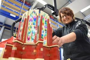 Ulmer Münster aus LEGO - Bauarbeiten 5
